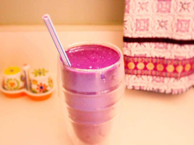 blueberry beet smoothie