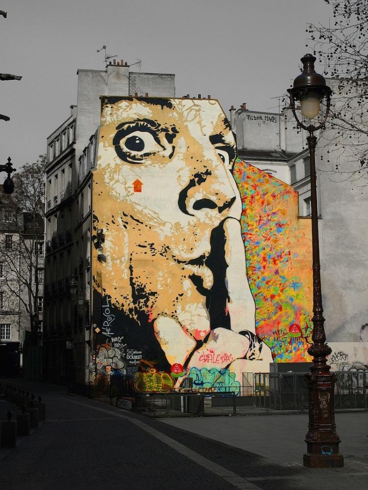 street art paris france