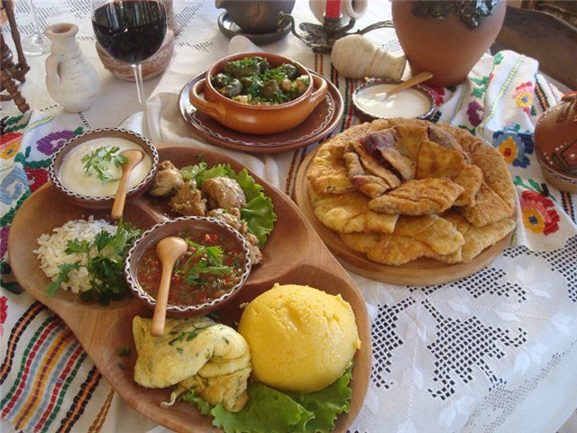 Romania Local Food