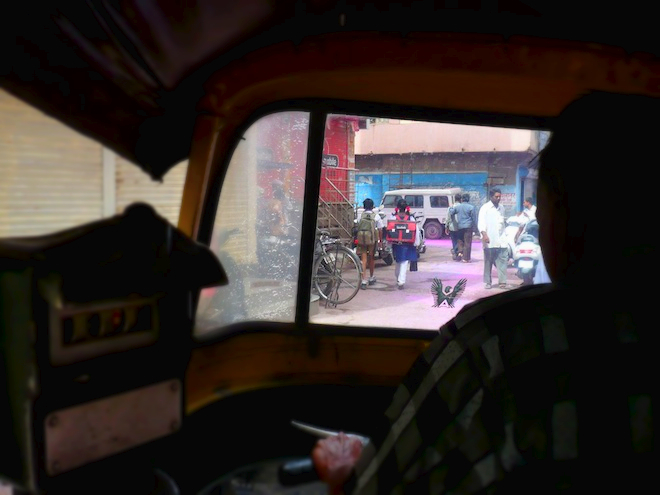 india street rickshaw