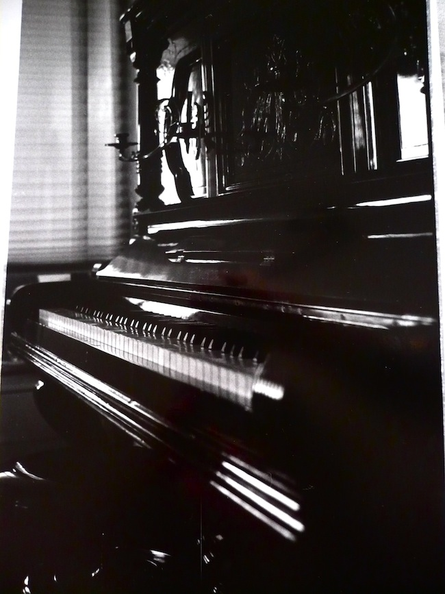Just a piano.