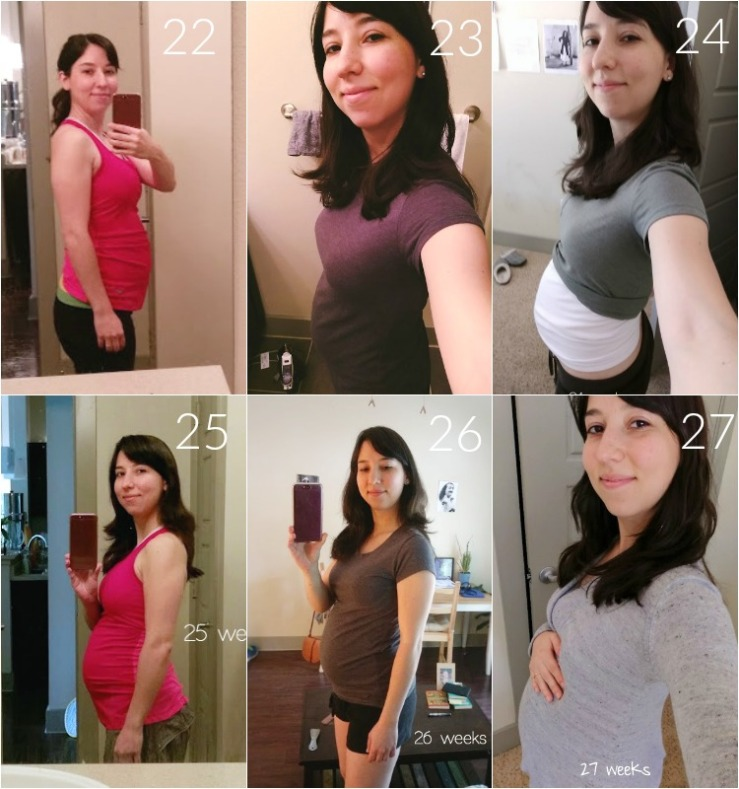 Pregnancy Bump: Weeks 22-27