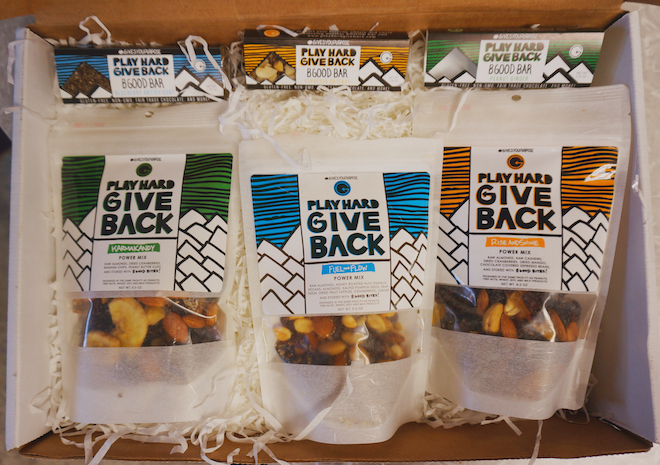 Play Hard Give Back Trail Mix & Bars - Product Review