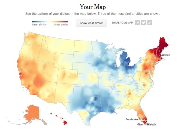 dialect map