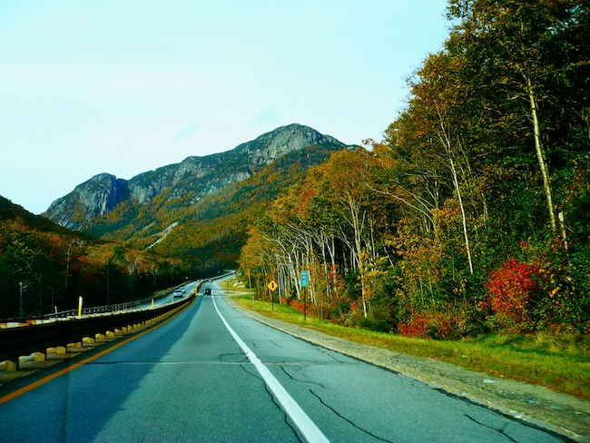 On the way to Cannon Mountain, New Hampshire