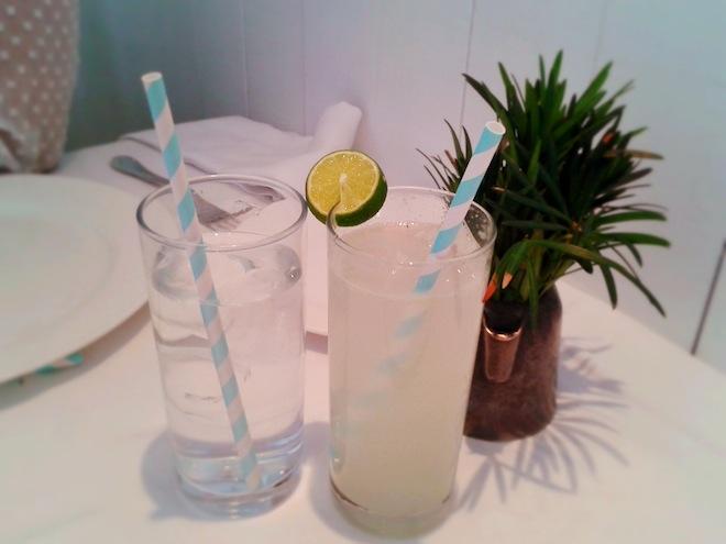 "Cute straws at ""La Lorena"" Restaurant"