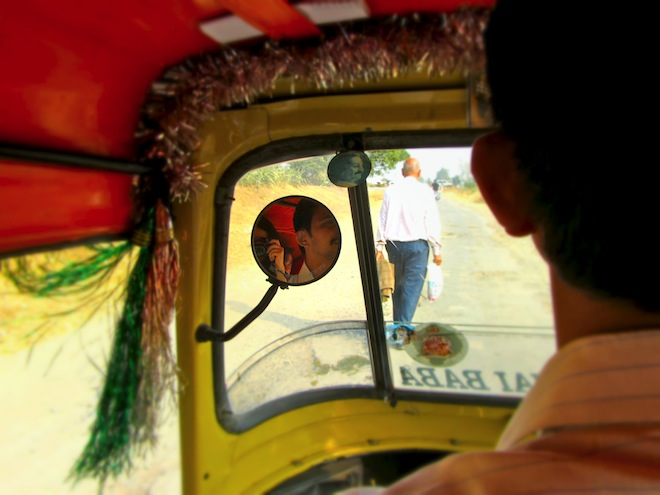 rickshaw india mirror