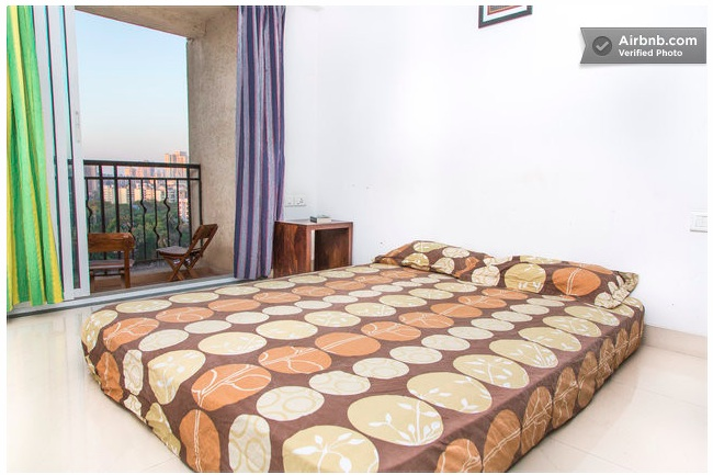 mumbai airbnb bed