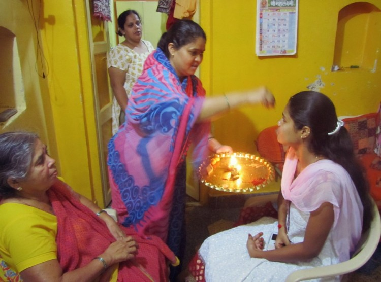 Indian Style Birthday Celebration ritual