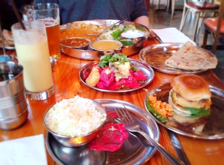 Indian street food in Portland