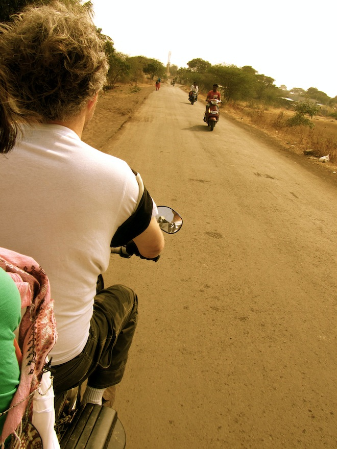 The Adventure of Riding A Motorcycle In India