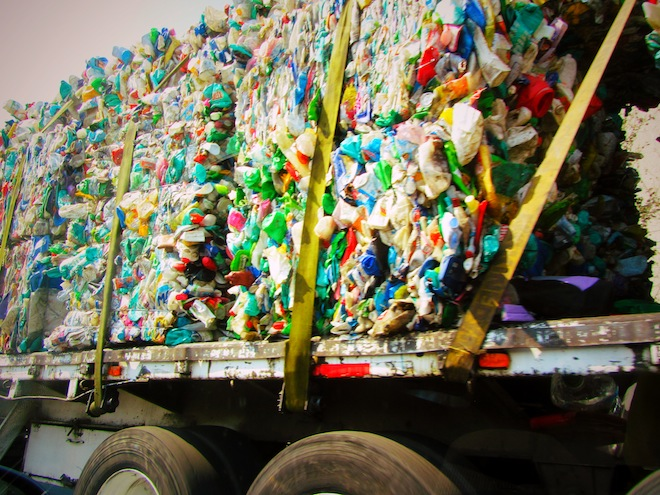 recycling truck mexico
