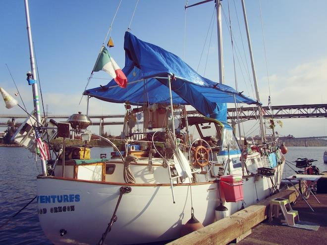 Whimsical boat portland