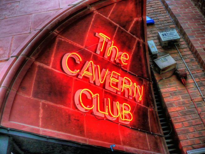 The Cavern Club, Liverpool, UK (Where The Beatles used to play.)