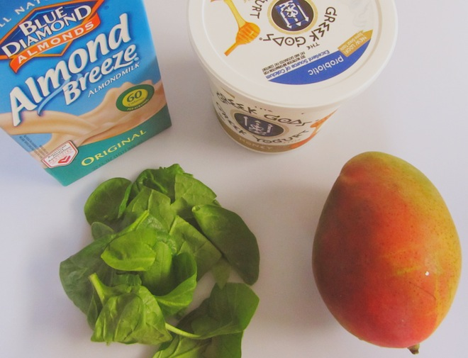 mango lassi spinach
