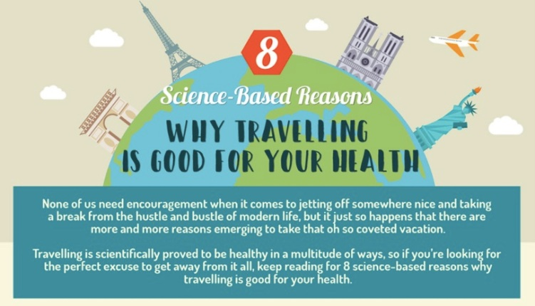 8 Scientific Reasons Why Travelling Is Good For You
