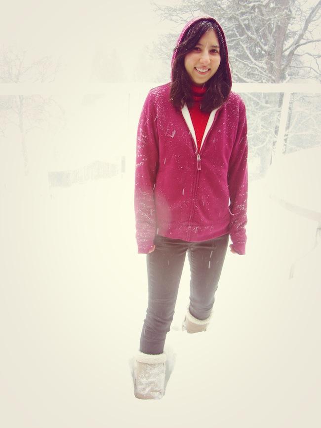 portland snow me