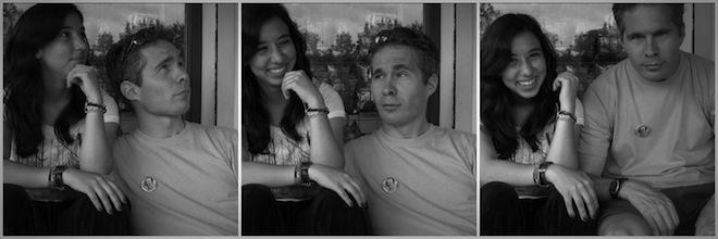 Josh and I when we met in India. (2008)