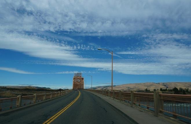 the dalles or bridge