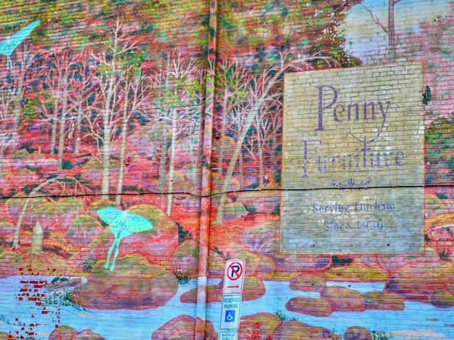 Graffiti in Durham, NC