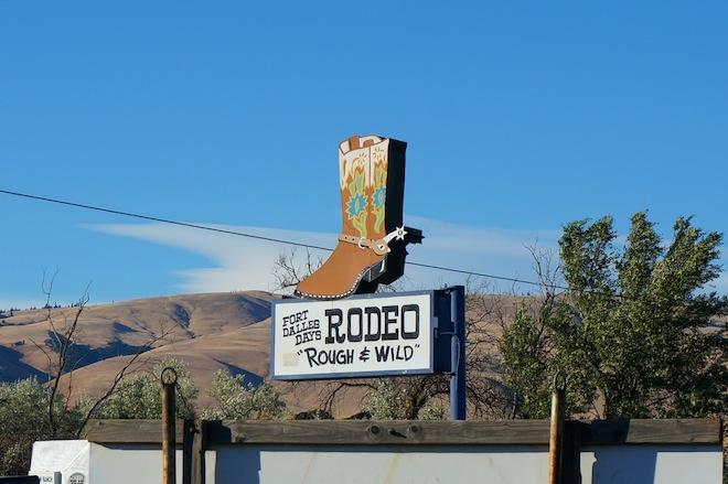 the dalles oregon rodeo1