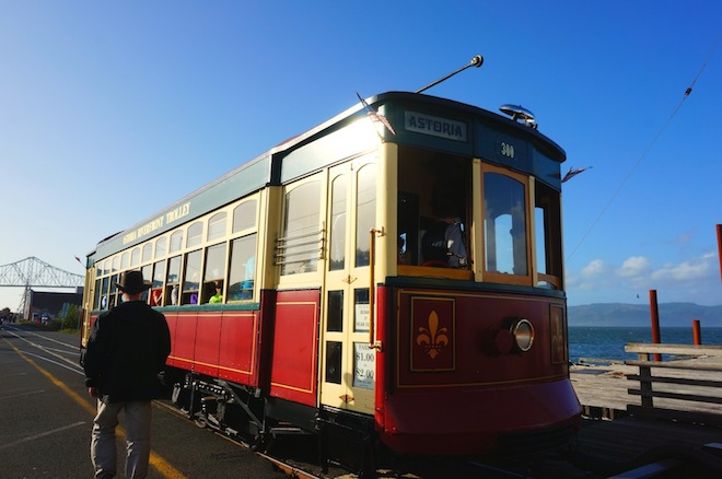 Astoria, Oregon trolley