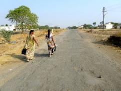 india street women