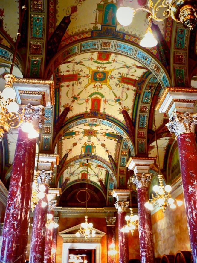 Inside the Hungarian Opera House