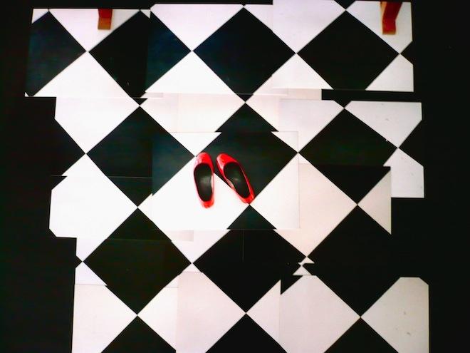 feet art hockney