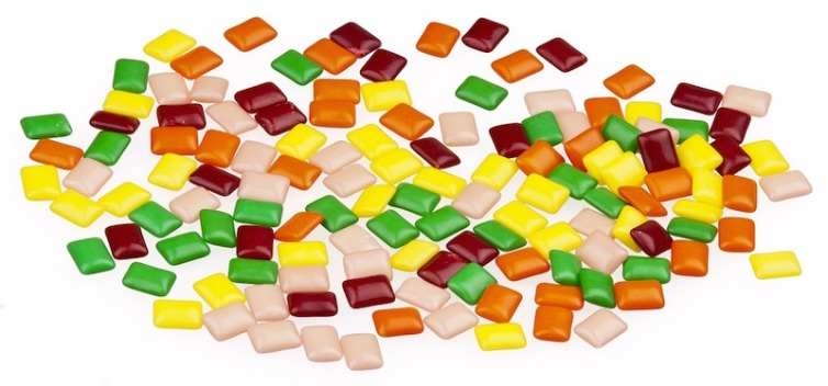 candy gum chicles
