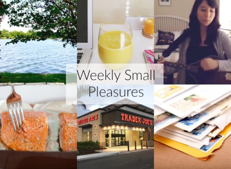 weekly small pleasures 112