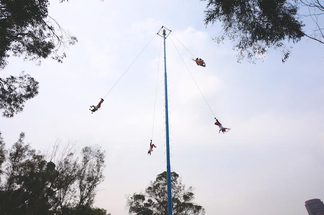 voladores mexico