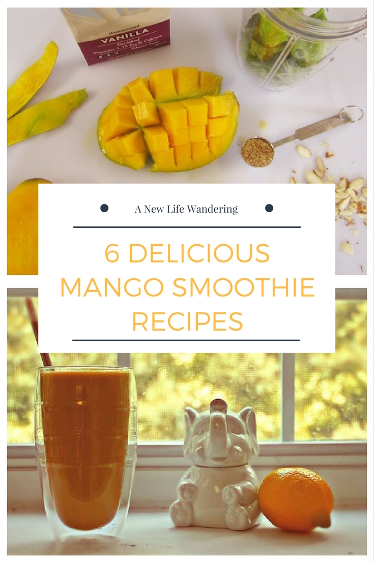 6 Delicious Mango Smoothie Recipes