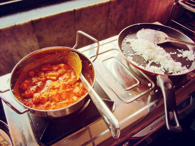 shahi paneer rice