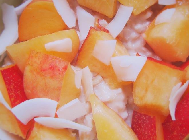 coconut nectarine oatmeal4