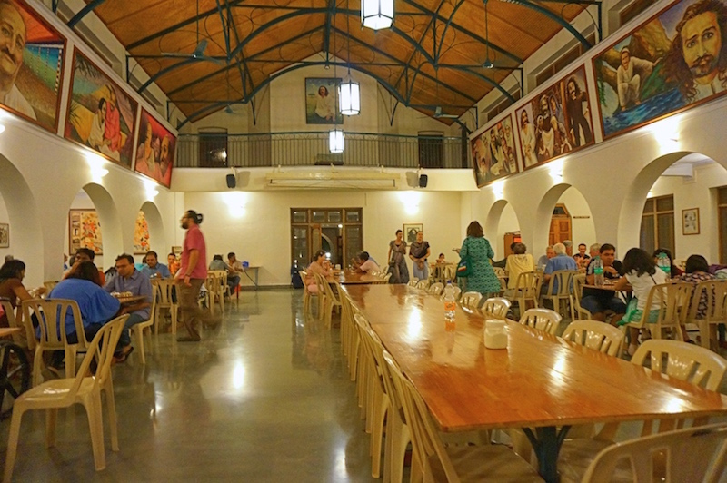 Dining Hall at MPR Meherabad