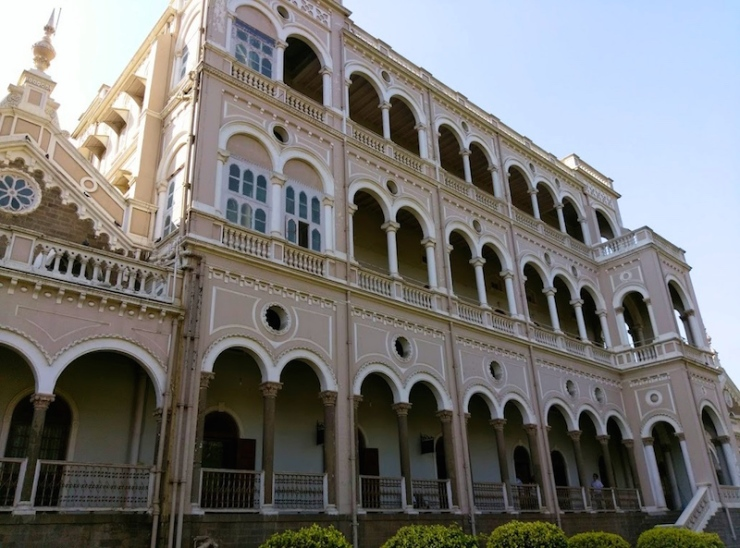 Aga Khan Palace in Pune India