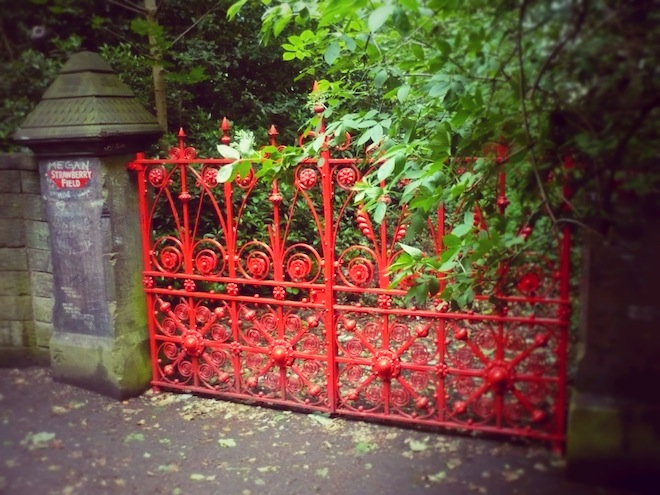 "The Beatle's ""Strawberry Fields"" were actually based on the ones in this picture. Liverpool, UK"