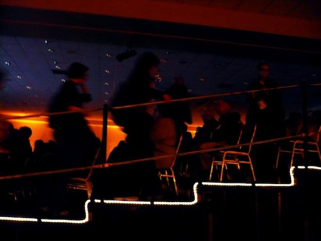 Zigzag light during the Fullframe Documentary Film Festival in Durham, NC