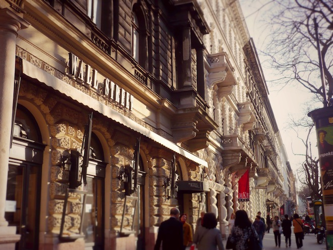 budapest hungary street