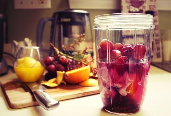 My Beet Grape Nutribullet Smoothie