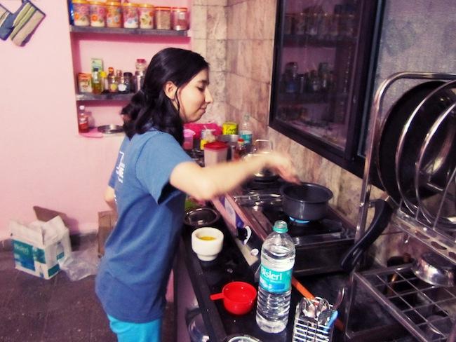 mani cooking