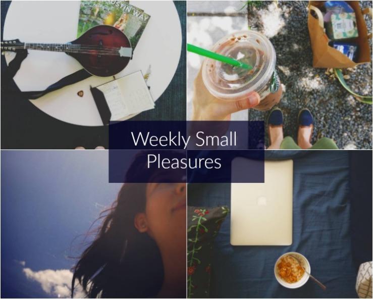 weekly small pleasures 116