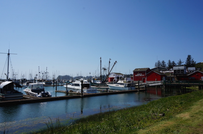 Saturday Market Port of Ilwaco