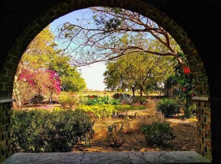 Meherabad, India Gardens MPR