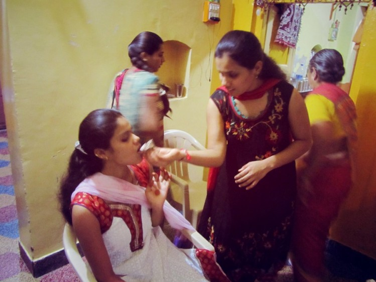 Indian Style Birthday Celebration