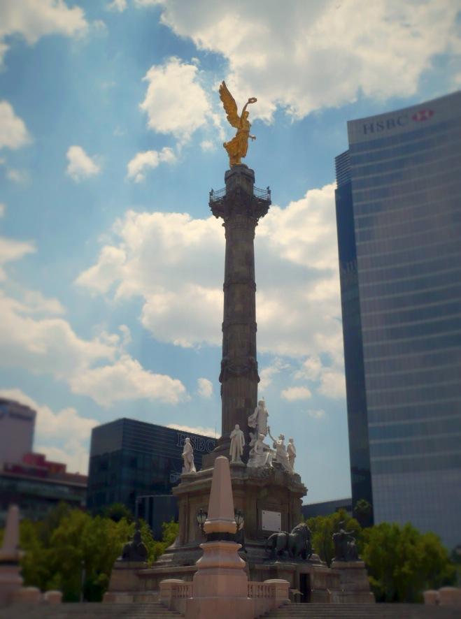 """The """"angel de la independencia"""", Mexico City"""