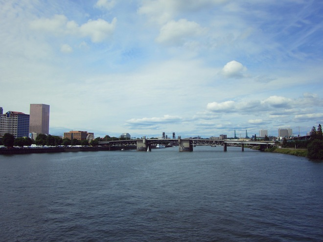 portland waterfront downtown