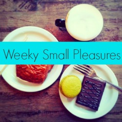 weeklysmallpleasures badge