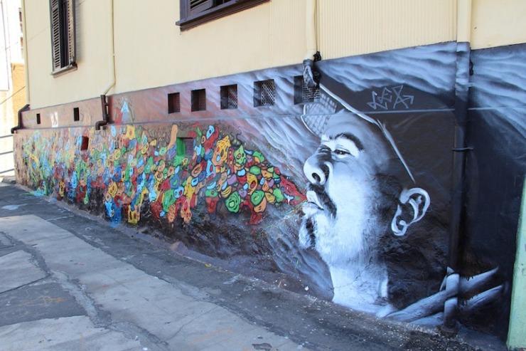 graffiti-street art valparaiso chile